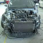 Автосервис Garage-37 (Иваново) - РЕМОНТЫ автомобилей - архив фото: легковой автомобиль Nissan Teana (ремонт кузова, покраска авт