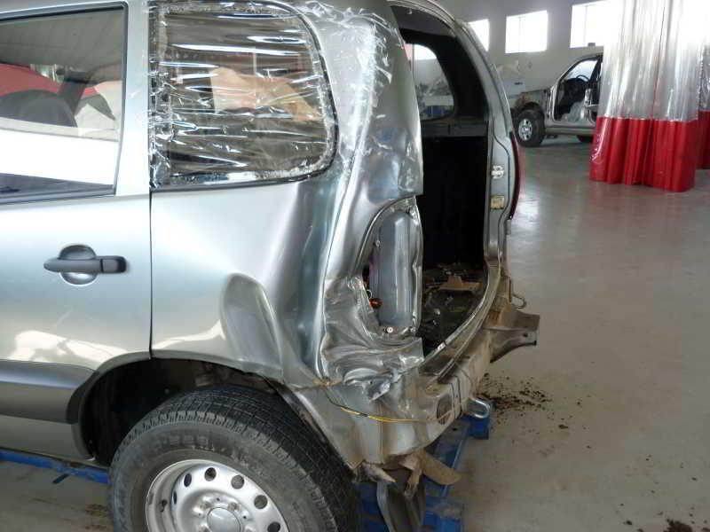 Ремонт кузова авто нива видео